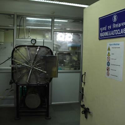 Washing And Autoclave Area
